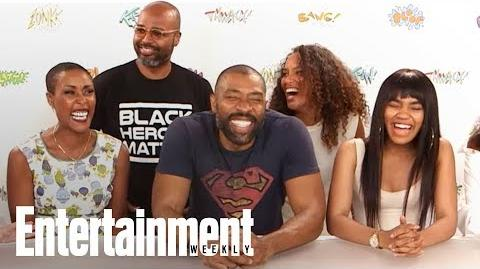'Black Lightning' Cast Compare The CW Series To Other Superheroes SDCC 2017 Entertainment Weekly