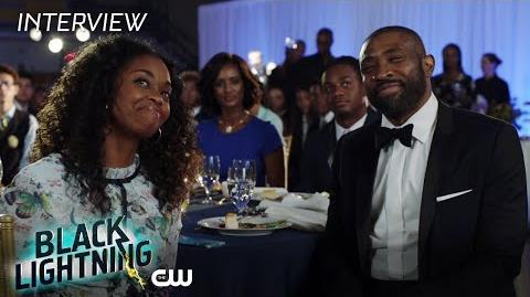 "Black Lightning Nafessa Williams ""Anissa Pierce"" Interview The CW"
