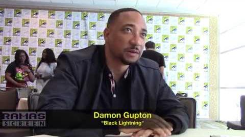 Damon Gupton Talks 'BLACK LIGHTNING' Season 2 at SDCC 2018