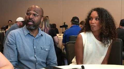 Interview with Black Lightning EPs Mara Brock Akil and Salim Akil - Comic Con 2017