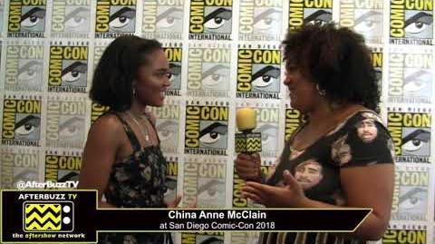 China Anne McClain (Black Lightning) San Diego Comic-Con 2018