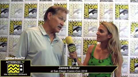 James Remar (Black Lightning) San Diego Comic-Con 2018