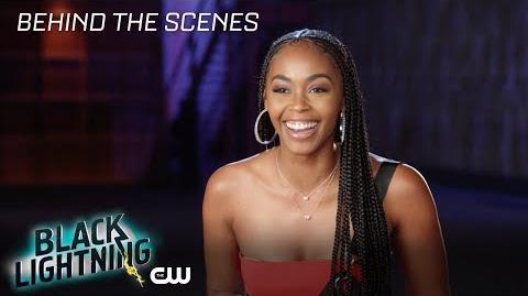 Black Lightning Nafessa Williams Ready for Season 2 The CW