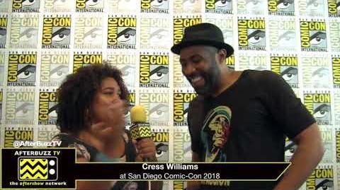 Cress Williams (Black Lightning) San Diego Comic Con 2018