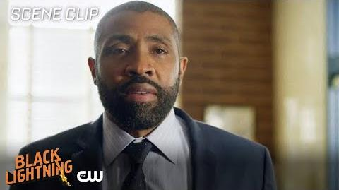 Black Lightning The Book of Consequences Chapter Three Master Lowry Scene The CW