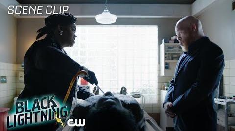 Black Lightning Black Jesus Scene The CW