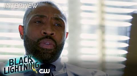 "Black Lightning Cress Williams ""Jefferson Pierce"" Interview The CW"