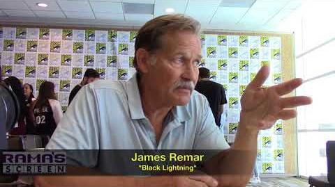 James Remar Talks 'BLACK LIGHTNING' Season 2 at SDCC 2018