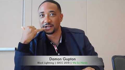 WSN INTERVIEWS Damon Gupton at SDCC 2018