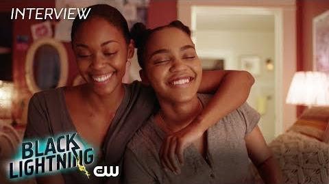 Black Lightning Cast Magic Interview The CW