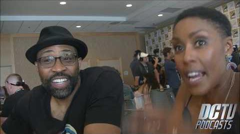 Black Lightning Interview Comic-Con '18 Cress Williams & Christine Adams DCTV Podcasts