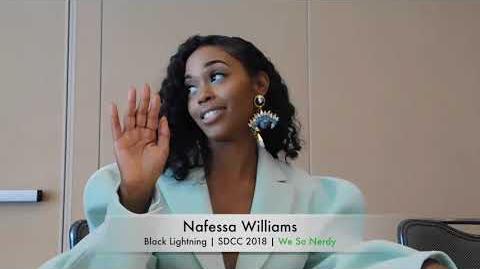 WSN INTERVIEWS Nafessa Williams at SDCC 2018