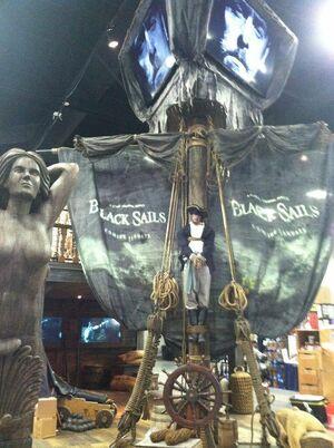 Black Sails Comic-Con booth