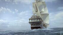 Colonial Dawn stern