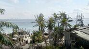 High view of Nassau