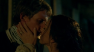 Lambrick and Miranda kiss S1E6
