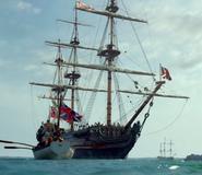 Blackbeard's ship