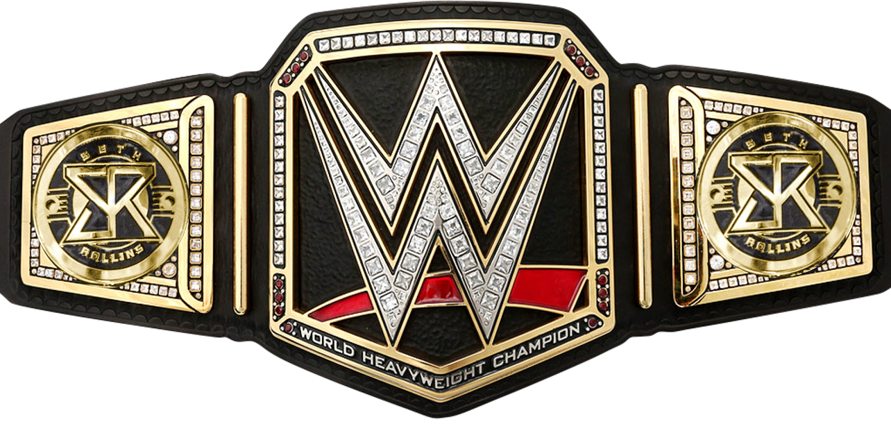 image seth rollins wwe world championship sideplates by nibble t