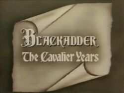 Blackadder Cavalier Years