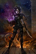 Dame tiefling igniferous by sirtiefling d6v5ll4-350t