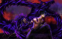 Hiei and the dragon of the darkness flame by zazzycreates d9atx5i-fullview-0