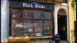 Black Books shop