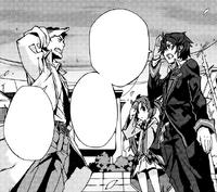 Tadashima, Rentaro and Enju part ways