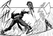 Rentaro regains his balance