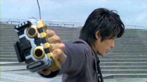 Kamen Rider IXA 2008 Henshin sound