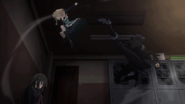 Rentaro saves Kisara