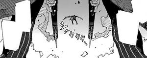 Kagetane aims at Rentaro and Enju