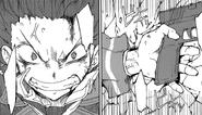 Rentaro withstands Kagetane's attack