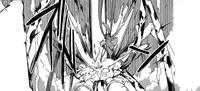 Enju beats the Original Gastrea