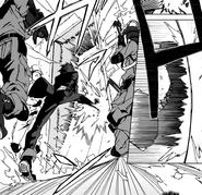 Rentaro takes the door down