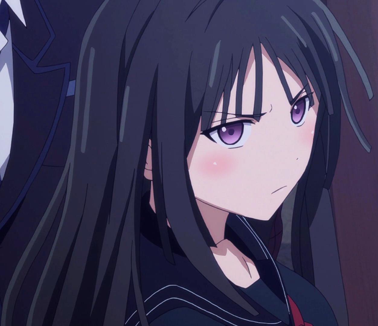 image - kisara stares at kikunojyo | black bullet wiki | fandom