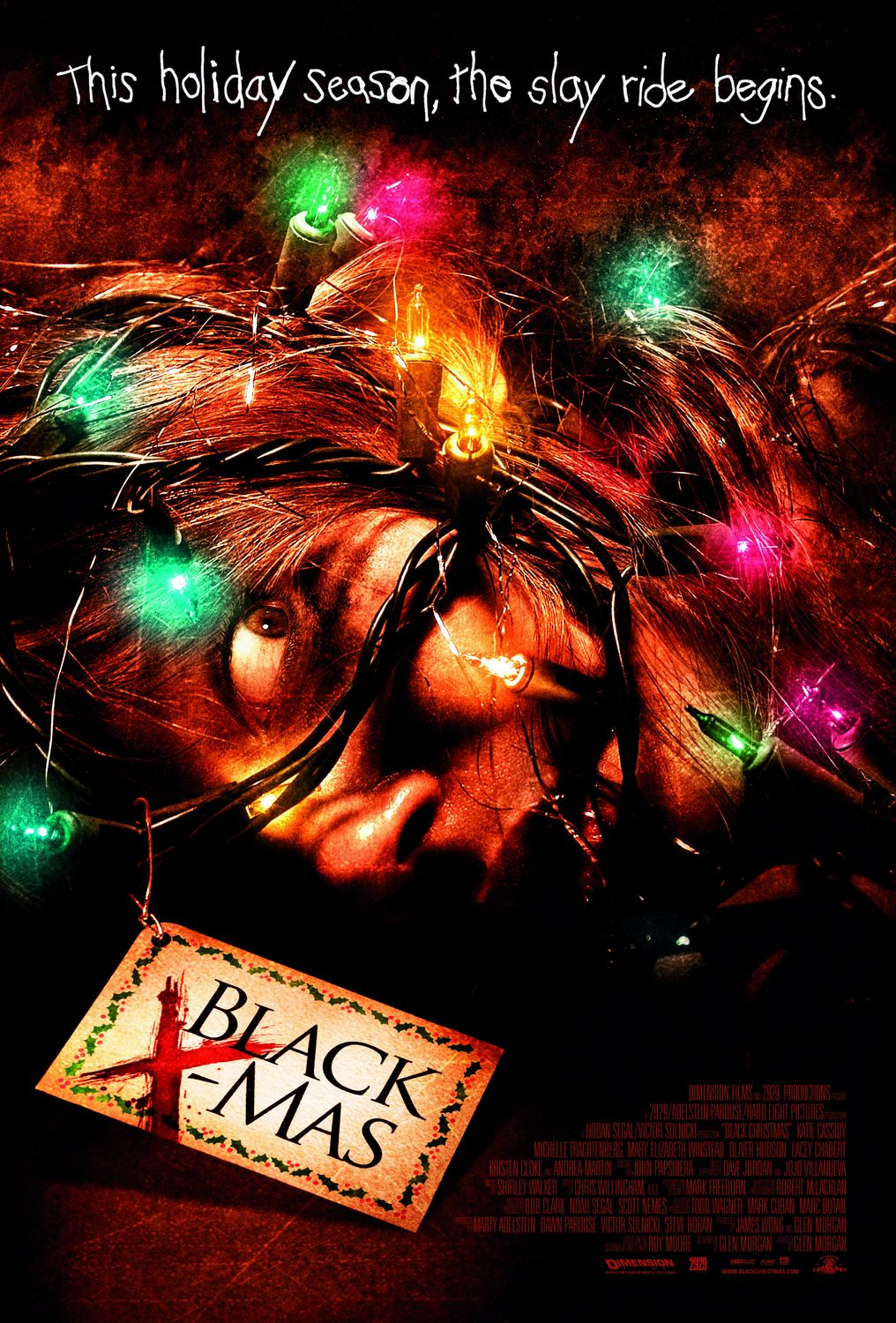 Black Christmas Official 2006 Theatrical Poster
