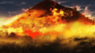 Bafo da salamandra incendio residual