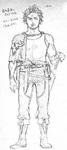Yami initial concept full body