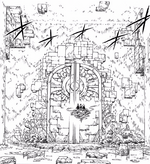 Gate to the center of the dungeon