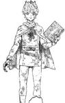 Lemiel as awakened statue