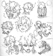 Asta initial concept personalities