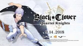 Black Clover Quartet Knights - Mars Character Trailer PS4, PC