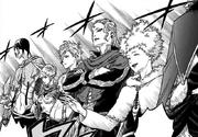 Capitanes en el Examen de Ingreso a los Caballeros Mágicos