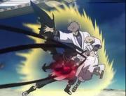 Asta pressed Drowa and Eclat with Demon-Slayer Sword