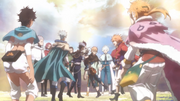 Magna and other Knights support Asta