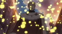 Transformação por partículas amarelas sem nome