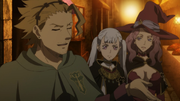 Sekke tries to flirt with Noelle and Vanessa