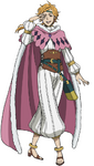Kirsch as Magic Knight