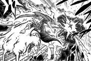 Mereoleona punches Asta
