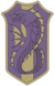 Purple Orca Insignia